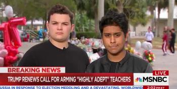 Watch These Parkland Kids Shred NRA Talking Points: 'Our Message Is Never Again'
