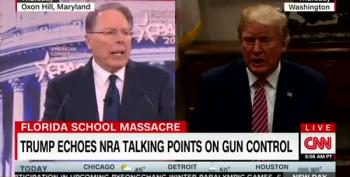 Trump Repeats NRA Talking Points, Again