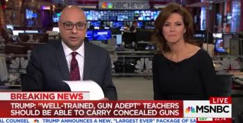 Ali Velshi Loses It Over Trump's Racism: 'Not Speaking As MSNBC Employee'
