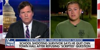 Tucker Carlson Helps Parkland Shooting Survivor Lie About Email Exchange With CNN