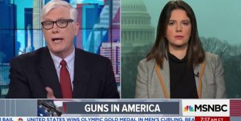 Hugh Hewitt Is Happy That Trump Is Pushing Guns In Schools
