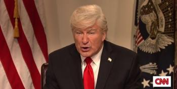 SNL Cold Open: Alec Baldwin's Trump Promises To Take Everyone's Guns Away