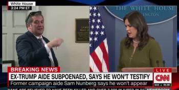 White House Freezes CNN Out Of White House Briefing Questions