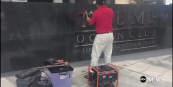 Trump's Name Removed From Trump International In Panama