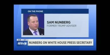 More Nunberg: Nevermind Sarah Sanders Is Fat Slob, She's A Joke