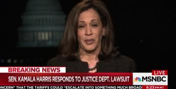Kamala Harris Schools Sessions: He Has No Credibility To Talk About Slavery Or Reconstruction