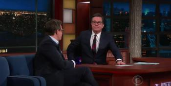 Chris Hayes Is Guest On Colbert; Stormy Daniels Is Real News