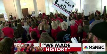 Oklahoma Teachers Weigh Strike After Success In WV