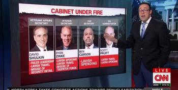 Wolf Blitzer And Chris Cillizza Report On Corrupt Trump Administration Officals