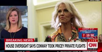 Kellyanne Conway Rode On Expensive Junkets With Tom Price