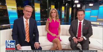 Fox And Friends Shouts Trump's Tweet For Him