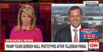 CNN Anchor Stunned After Trump's Racist Remarks At Mexico-California Border