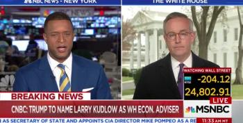 MSNBC Host Asks If Larry Kudlow Is A 'Real Economist Or Plays One On TV'
