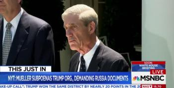 BREAKING: Mueller Subpoenas Trump Org's Documents In Russia Probe