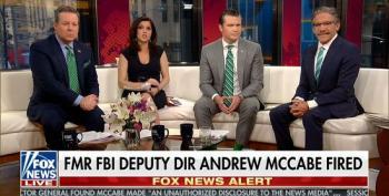 Fox & Friends Does Damage Control For Trump Following McCabe Firing