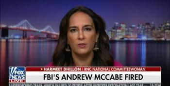 RNC Committeewoman Blames McCabe Firing On Hillary Clinton