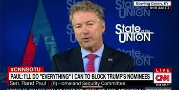 Sen. Rand Paul Promises To Filibuster Pompeo, Haspel Nominations