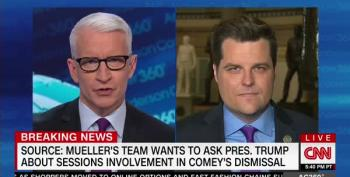 Rep. Matt Gaetz: Shut Mueller Down, Investigate 'FBI Secret Cabal' Instead