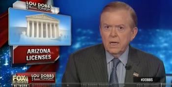 Trump Tweets Against Himself On DACA Because Lou Dobbs Said To