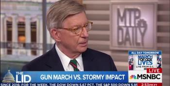 'Wet Blanket' George Will Wants Parkland Teens Off His Lawn
