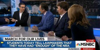 Ari Melber Talks Circles Around GOP Strategist Rick Tyler In Heated Gun Debate