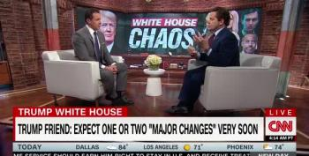 Defending Trump's Turnover, Scaramucci Calls White House A 'Start-Up' Company