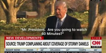 Trump Won't Answer Questions About Stormy, Especially This One