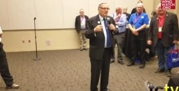Arpaio Promises Birth Certificate Hearings Once He's Senator