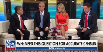 Fox And Friends Holds Constitutional 'Debate' On Citizenship Census Question