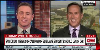 Rick Santorum: If Only Parkland Nazi Kids Would Stop Demonizing!