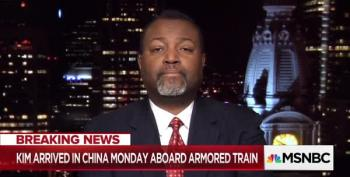 Malcolm Nance On Pentagon Funding For Trump's Stupid Wall