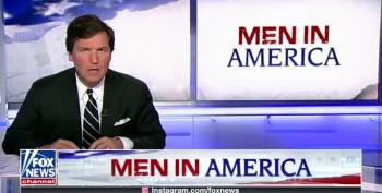Tucker Carlson Is Very, Very Worried About Masculinity On Campus