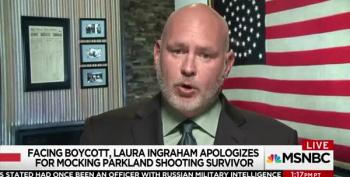 Steve Schmidt Hails David Hogg's Fearlessness While Mocking GOP's Fear Of Laura Ingraham