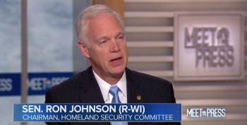 Ron Johnson: Trump 'Needs To  Understand The Effect' Firing Officials On Twitter Has On Recruitment