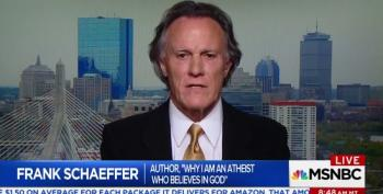 Frank Schaeffer: Trump Has Become Part Of Evangelical 'Absolutist Theology'