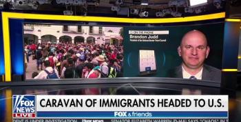 Fox Fearmongers Over 'Caravan Of Immigrants Headed To The U.S.'