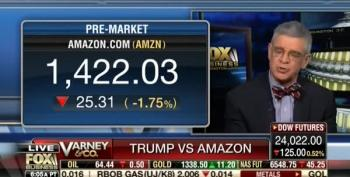 Fox Business Pundit: Trump Clueless About Amazon Deal With USPS