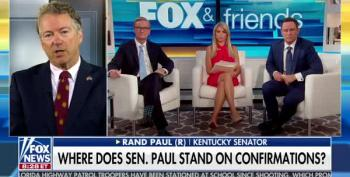 Brian Kilmeade Scolds Rand Paul Over Neocons: 'You Know Trump's Vision Better Than He Does?'