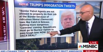 Ali Velshi Says It All In Two Minutes: Trump Lying On DACA