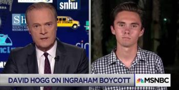 Lawrence Interviews David Hogg On O'Reilly's 'Shadowy' Charge:  'I'm Pretty Well Lit '