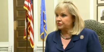 Oklahoma Gov Mary Fallin Blames 'Antifa' For Teachers' Strike