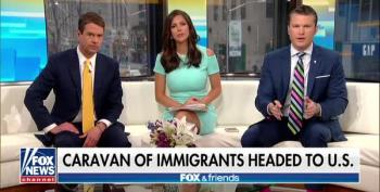 Fox & Friends Warns About 'Caravans Of Immigrants' Descending On The Border