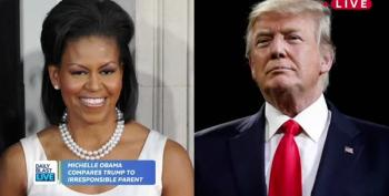 Michelle Obama Calls Trump A Lax Parent Who Lets The 'Kids Eat Candy All The Time'