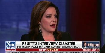 Shill Mollie Hemingway: Media Ignoring Death Threats To Pruitt