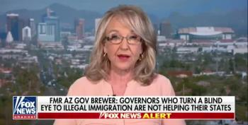 Jan Brewer Loves Her Some Trumpian Border Troops