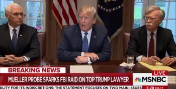 Trump Rages About Cohen Raid: 'It's An Attack On Our Country'