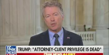 Rand Paul Admits He Liked Special Counsels When They Investigated Democrats