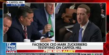 Ted Cruz Turns Zuckerberg Testimony Into Conservative Victim Whinefest