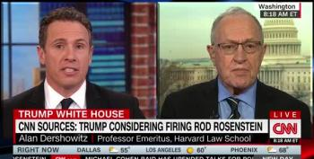 CNN Host To Dershowitz: 'Have You Seen Trump Respect Any Tradition?'