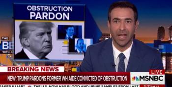 Ari Melber Brings The Heat To Jack Quinn Over Scooter Libby Pardon
